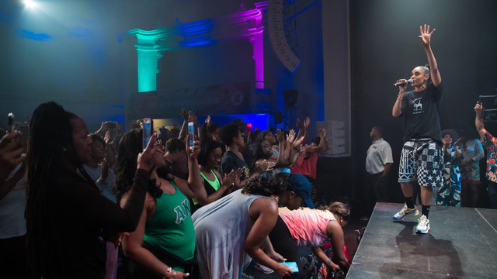 Weight Watchers & Daybreaker Dance Party Gets Festival Goers Moving