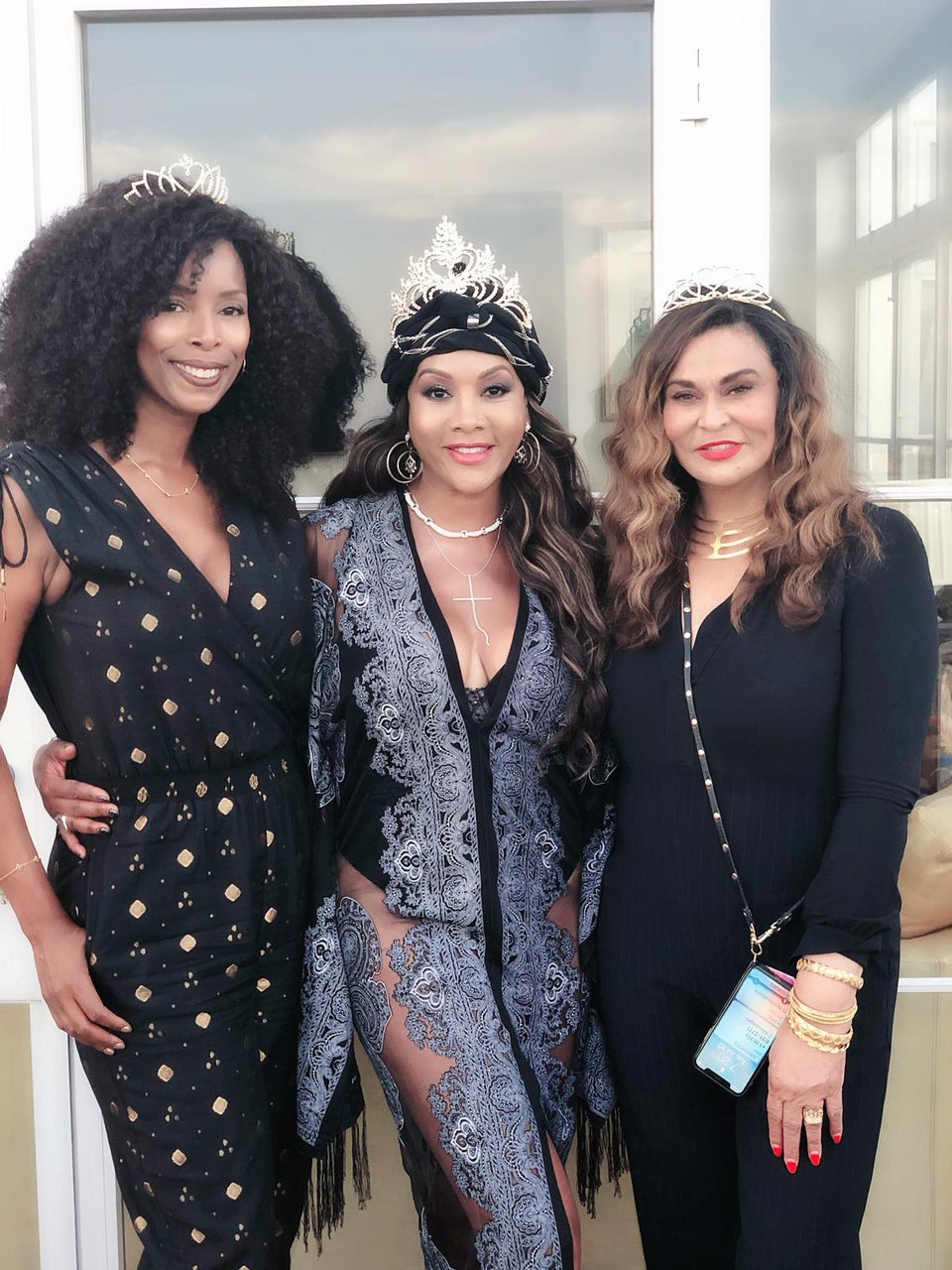 Tina Lawson Threw Vivica A. Fox A 55th Birthday Party Fit For A Queen