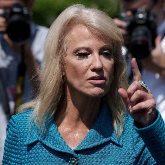 Kellyanne Conway, Defending Trump's Racism, Asks Reporter: 'What's Your Ethnicity?'