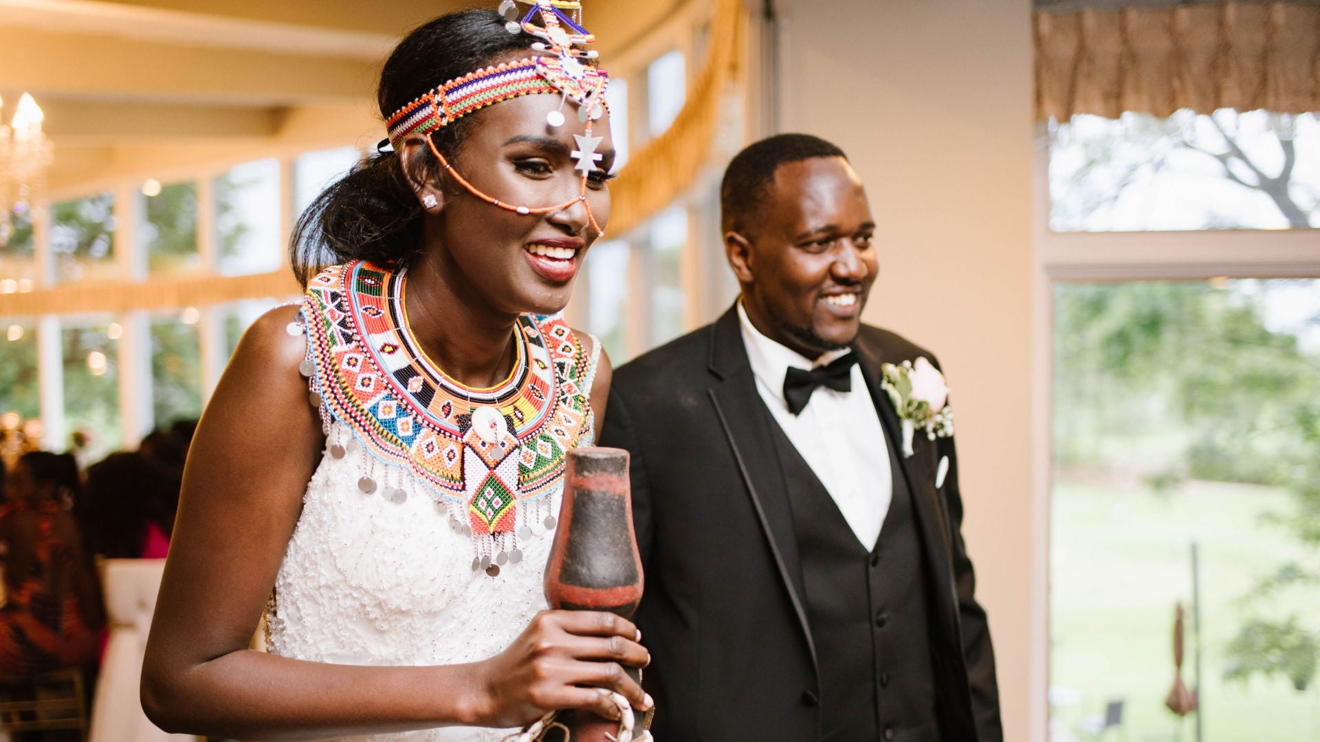 Bridal Bliss: Viviana And Benson's Modern Wedding With A Cultural Twist