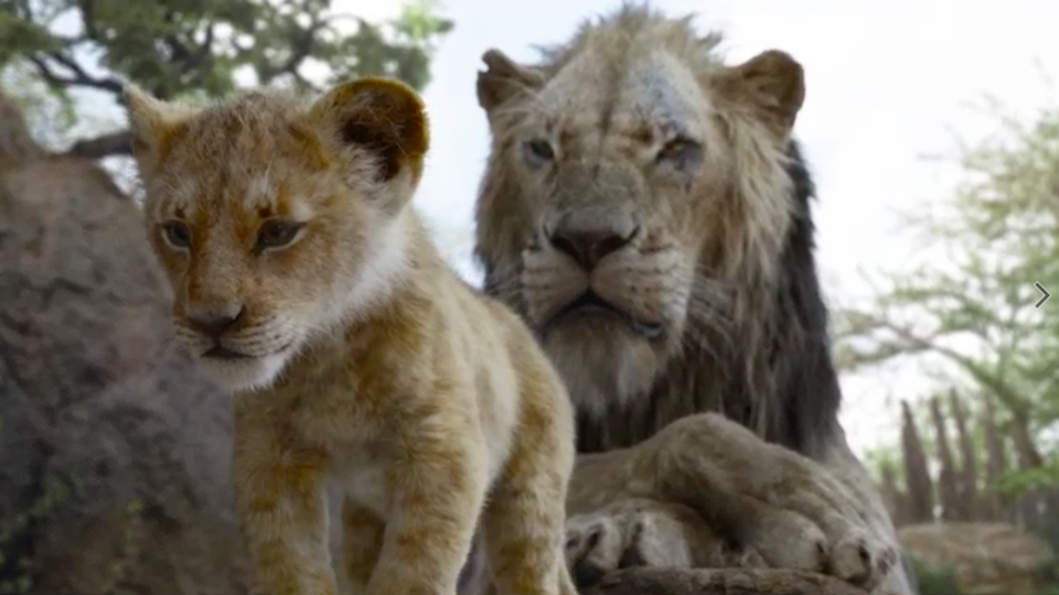 New 'Lion King' Trailer Shows Simba Fighting For His Destiny