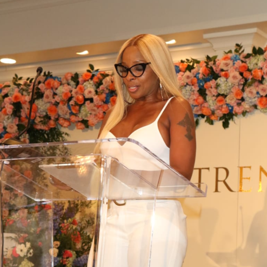 Mary J. Blige Celebrates Clark Sisters, Cicely Tyson At Essence Fest's Strength Of A Woman Brunch