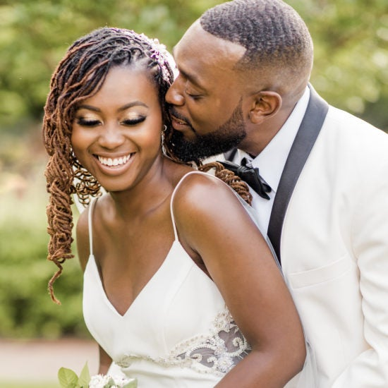 Bridal Bliss: We Loved Maurice and Ebone's Beautiful Black Tie Wedding Vibes