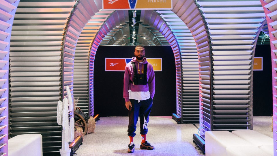 Reebok and Kerby Jean-Raymond of Pyer Moss Announce The Creation of Reebok Studies___