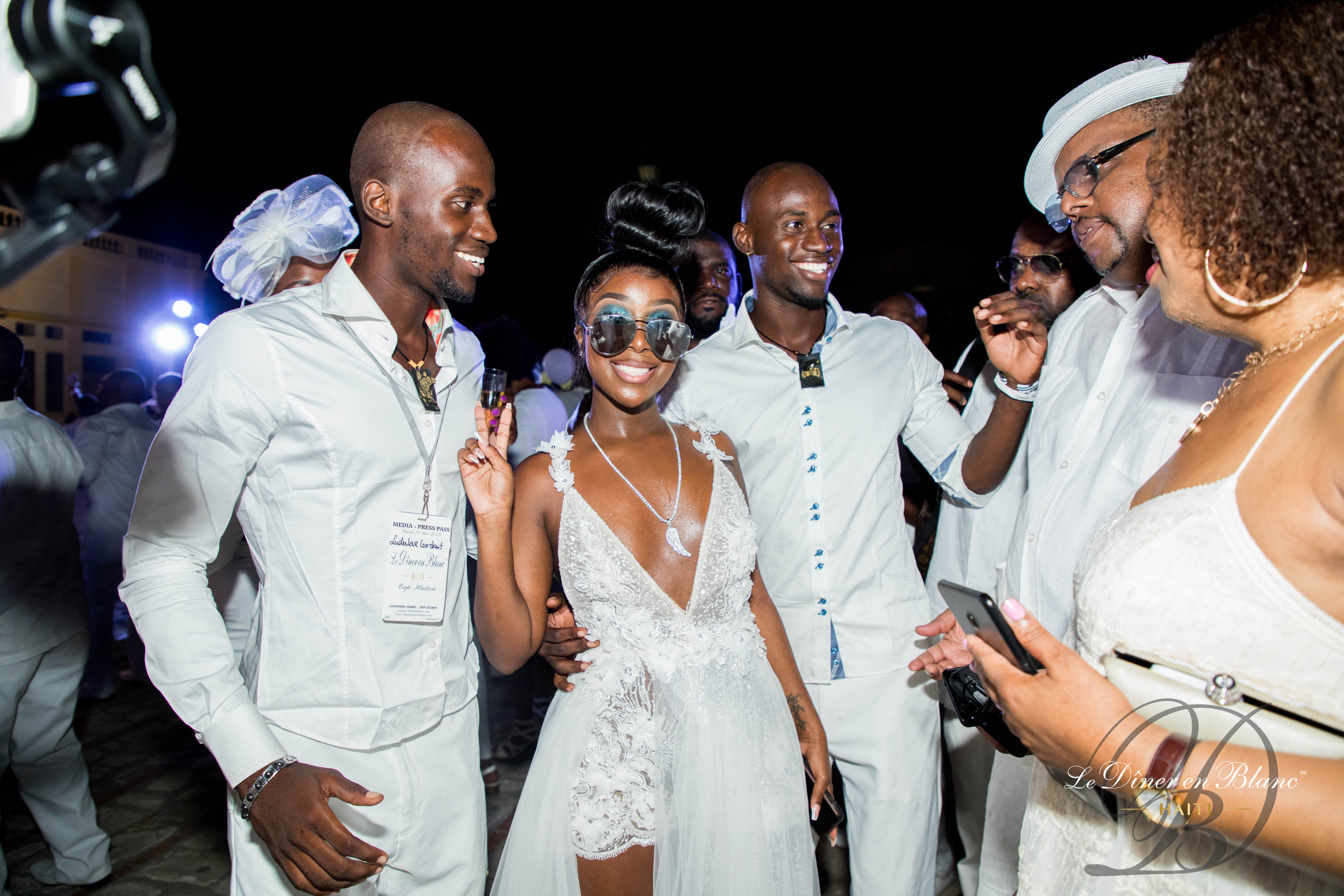 These Photos From Haiti's Dîner en Blanc Have Us Ready To Party Like Haitians