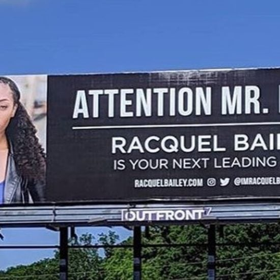 Actress Lands Role In Tyler Perry Series After Paying For Her Own Billboard To Get His Attention