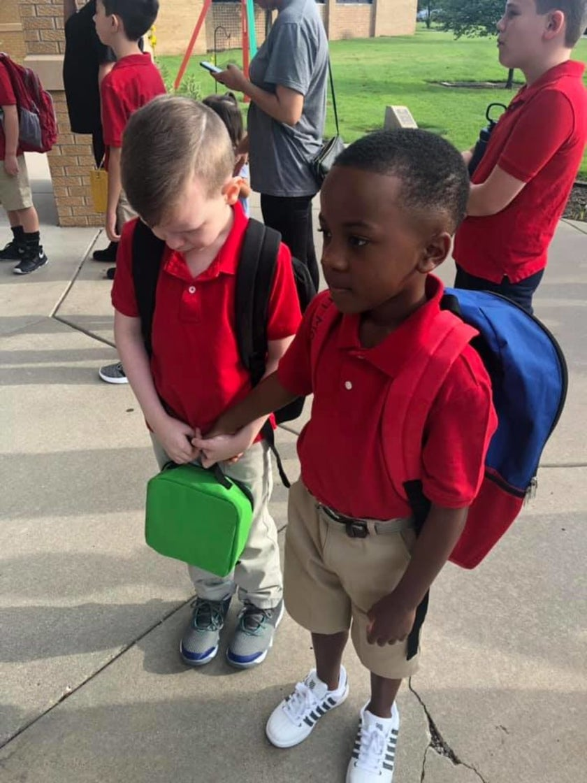 Elementary School Student Goes Viral For Showing Compassion To Autistic Classmate