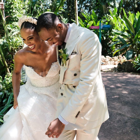 Bridal Bliss: We're Swooning Over Arielle and Steve's Miami Wedding Vibe