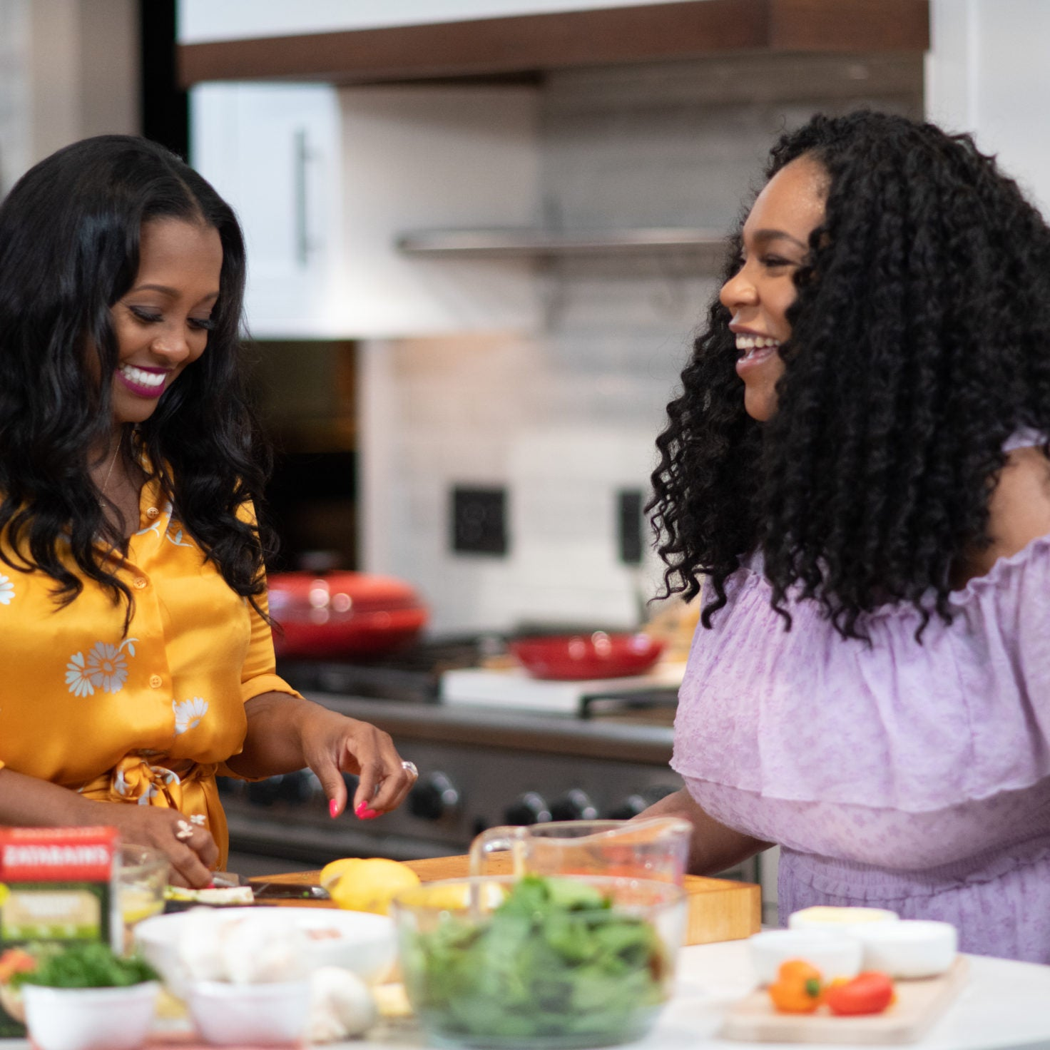 We're In The Kitchen With Keshia Knight Pulliam Talking Food, Family & Baby Ella
