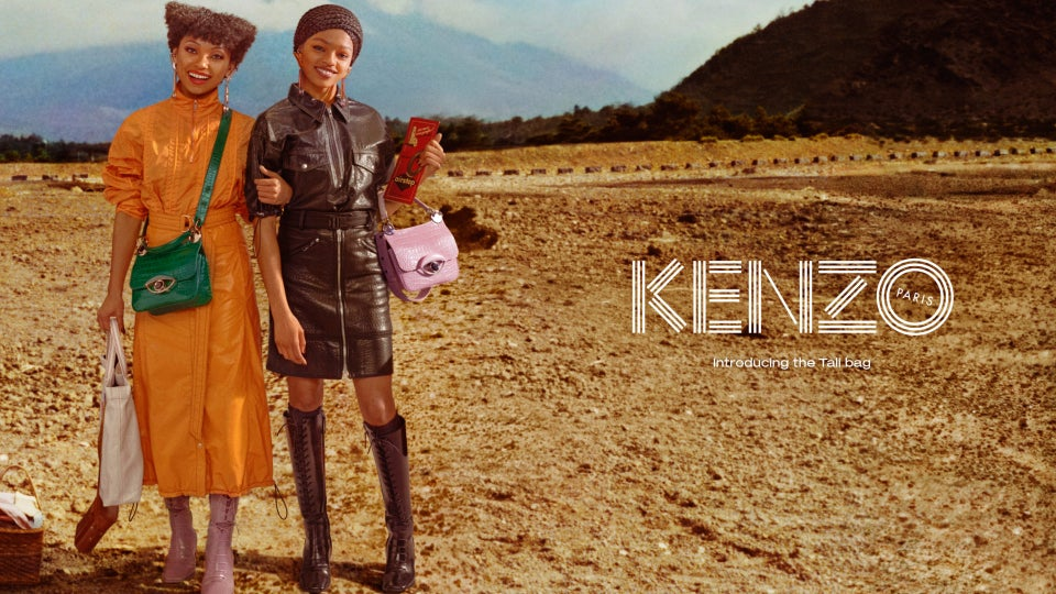 Kenzo Tabs Logan Browning and Selah Marley for its' Fall-Winter 2019 Campaign.