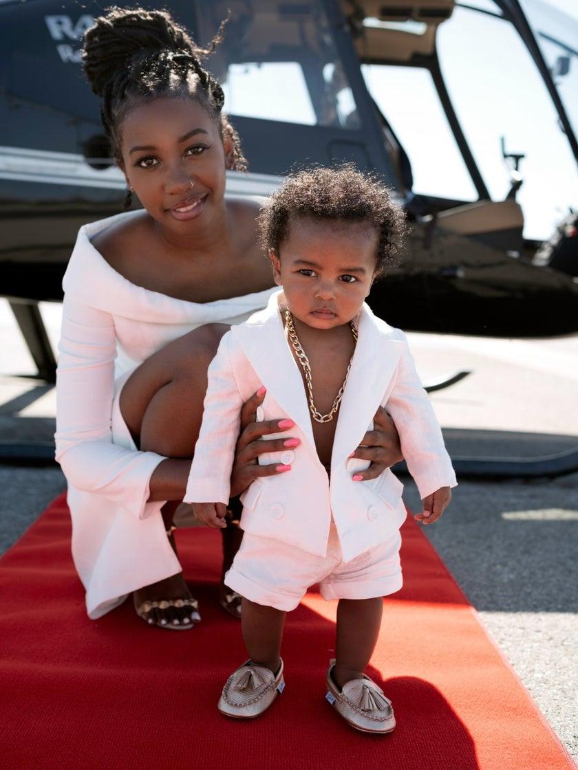 Shop Black: A Power PR Player Launches Adorable Mommy & Me Gear