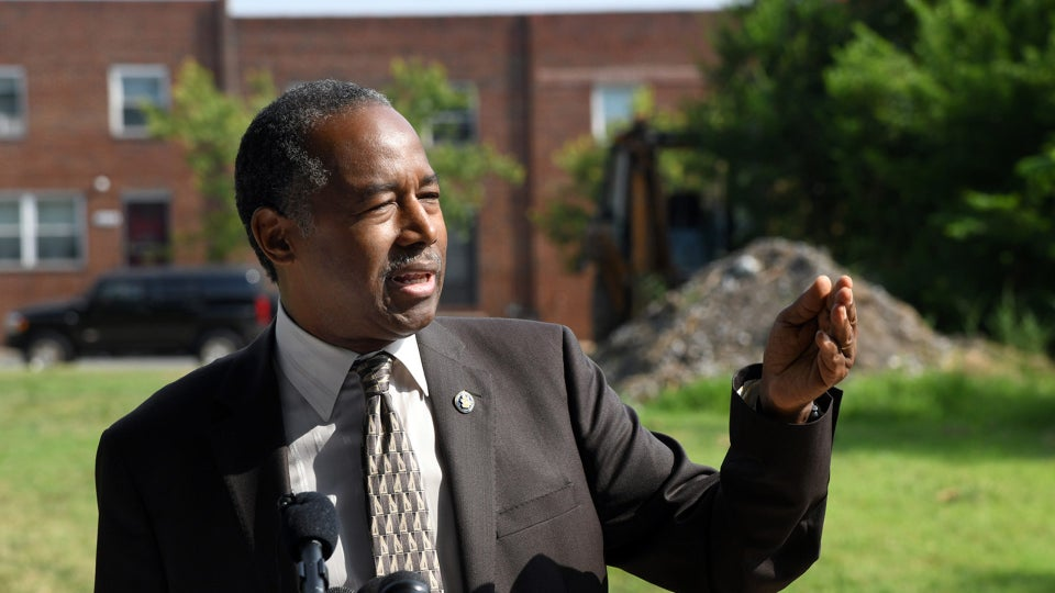 Baltimore Church Stops Ben Carson From Holding Press Conference On Property