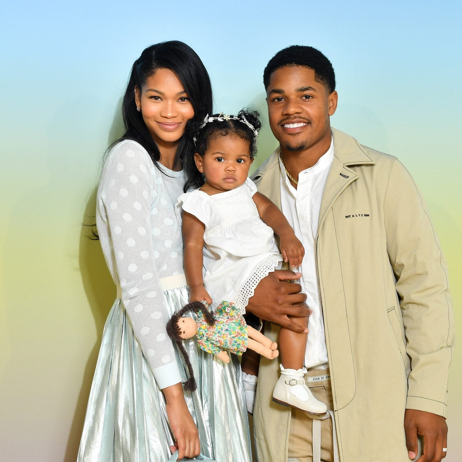 Chanel Iman and Husband Sterling Shepard Are Expecting Their Second Child