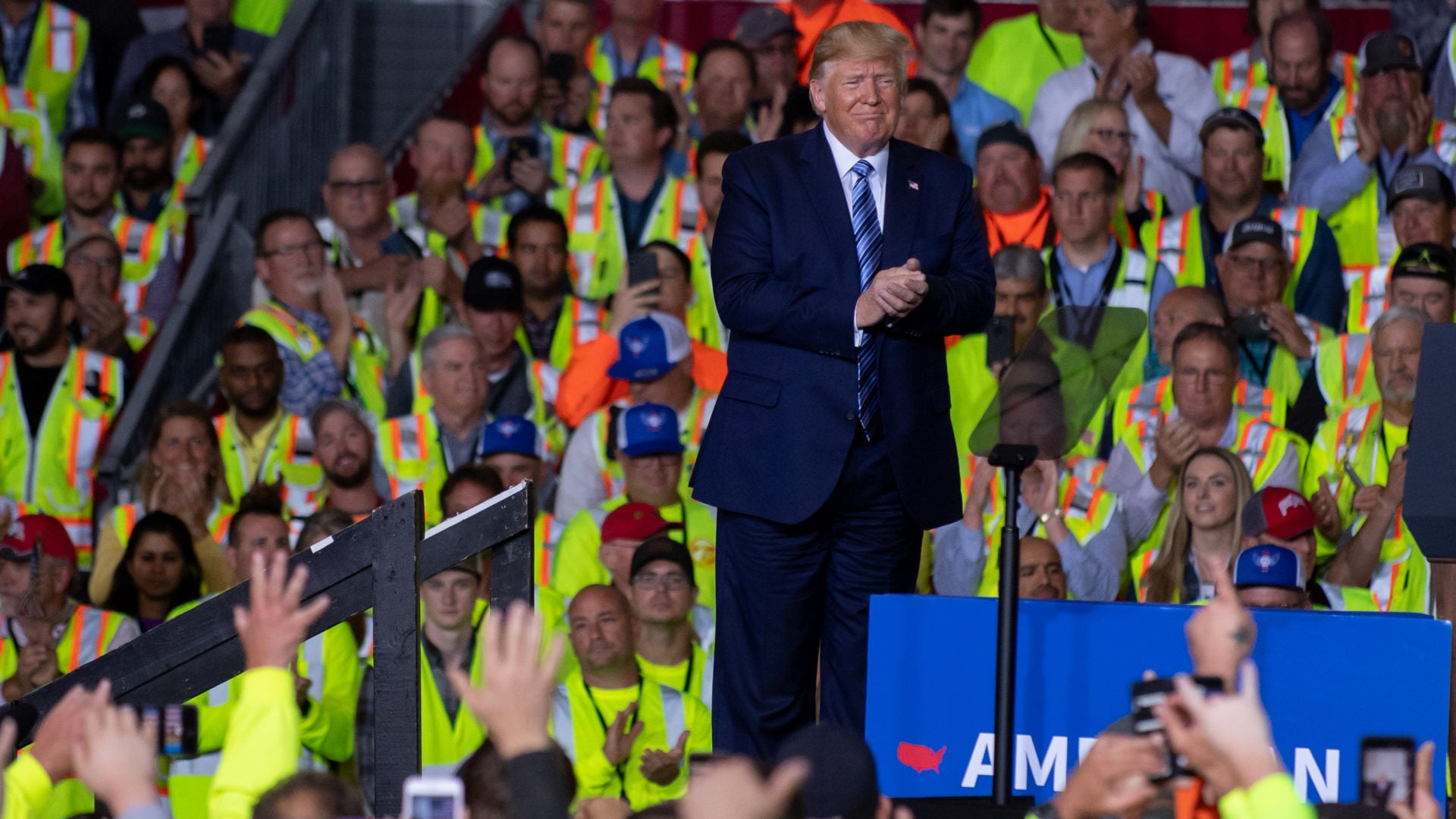 Shell Workers In Pennsylvania Say They Were Told Either Attend A Trump Event Or Not Get Paid