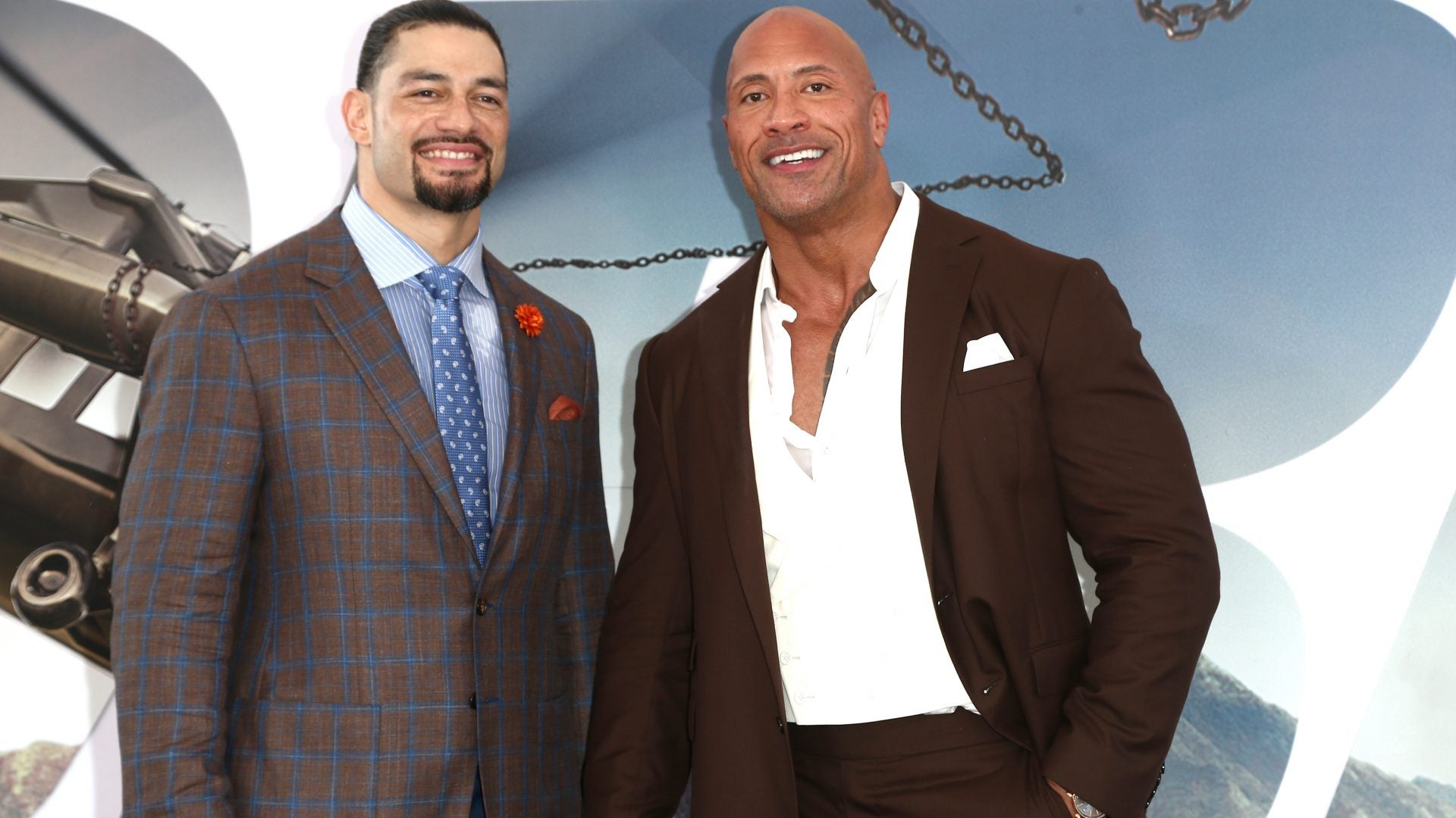 Watch The Rock Blush And Stumble In This Interview