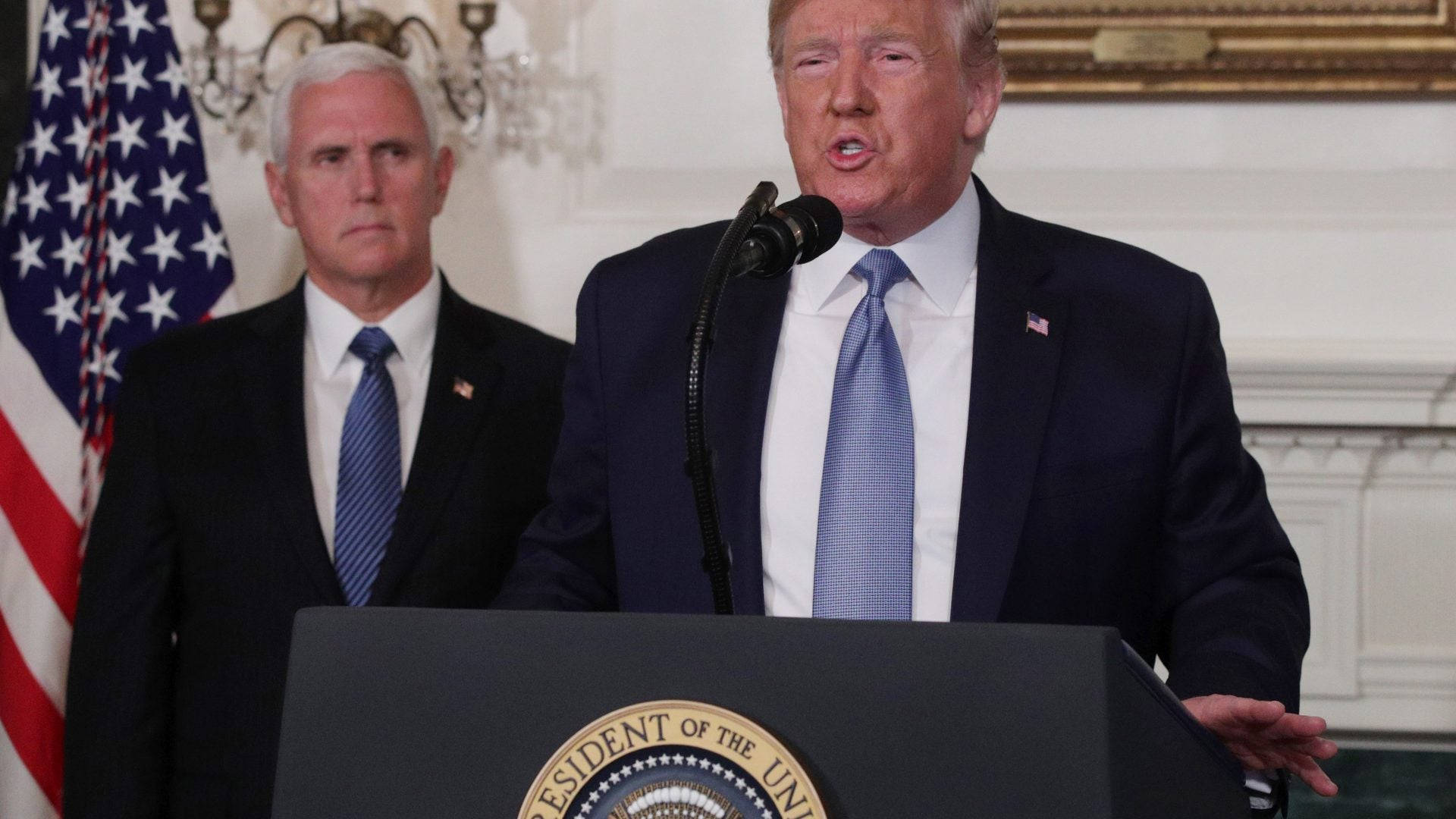 Donald Trump Condemns 'White Supremacy' During First Remarks Addressing El Paso, Dayton Mass Shootings