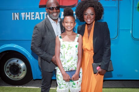 Viola Davis' Daughter Genesis Tennon Is Following In Her Mom's Footsteps With 'Angry Birds Movie 2' Debut