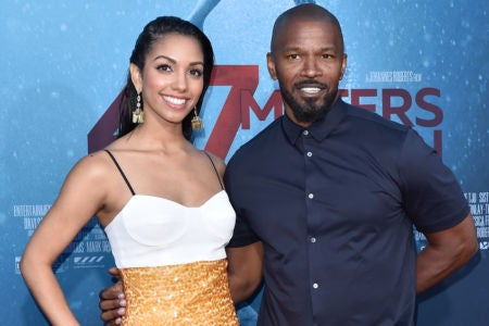 These Messages From Jamie Foxx Celebrating His Daughter Corinne's Acting Debut Will Give You All The Feels