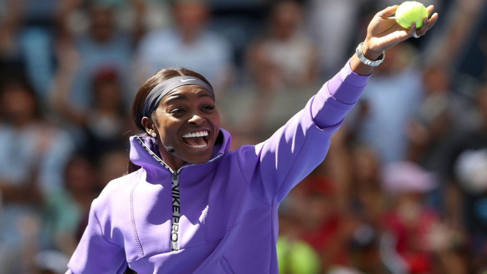 Sloane Stephens Is Only Competing Against One Person