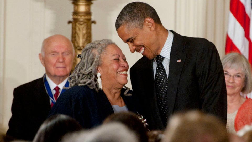 Barack Obama Pays Tribute To 'National Treasure' Toni Morrison