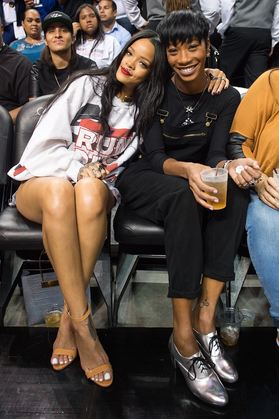 These Videos Of Rihanna And Her BFF Turning Up To City Girls At Crop Over Are A Summer Mood
