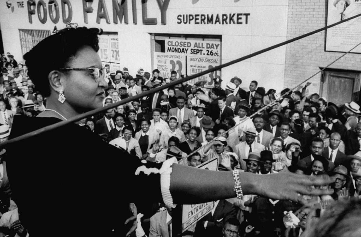 Mamie Till speaks out after her son's murderers were acquitted. The House's antilynching bill is named in his honor.