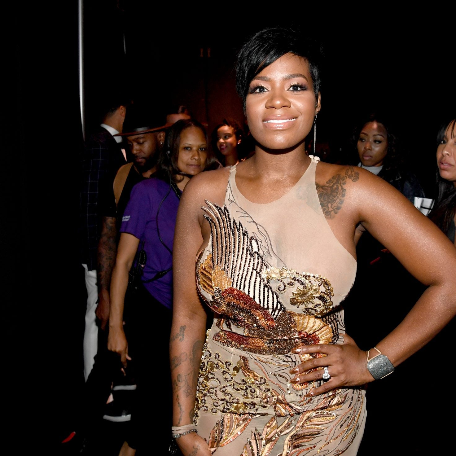 Fantasia Brings Back Sweet Memories For Her Daughter Zion's 18th Birthday