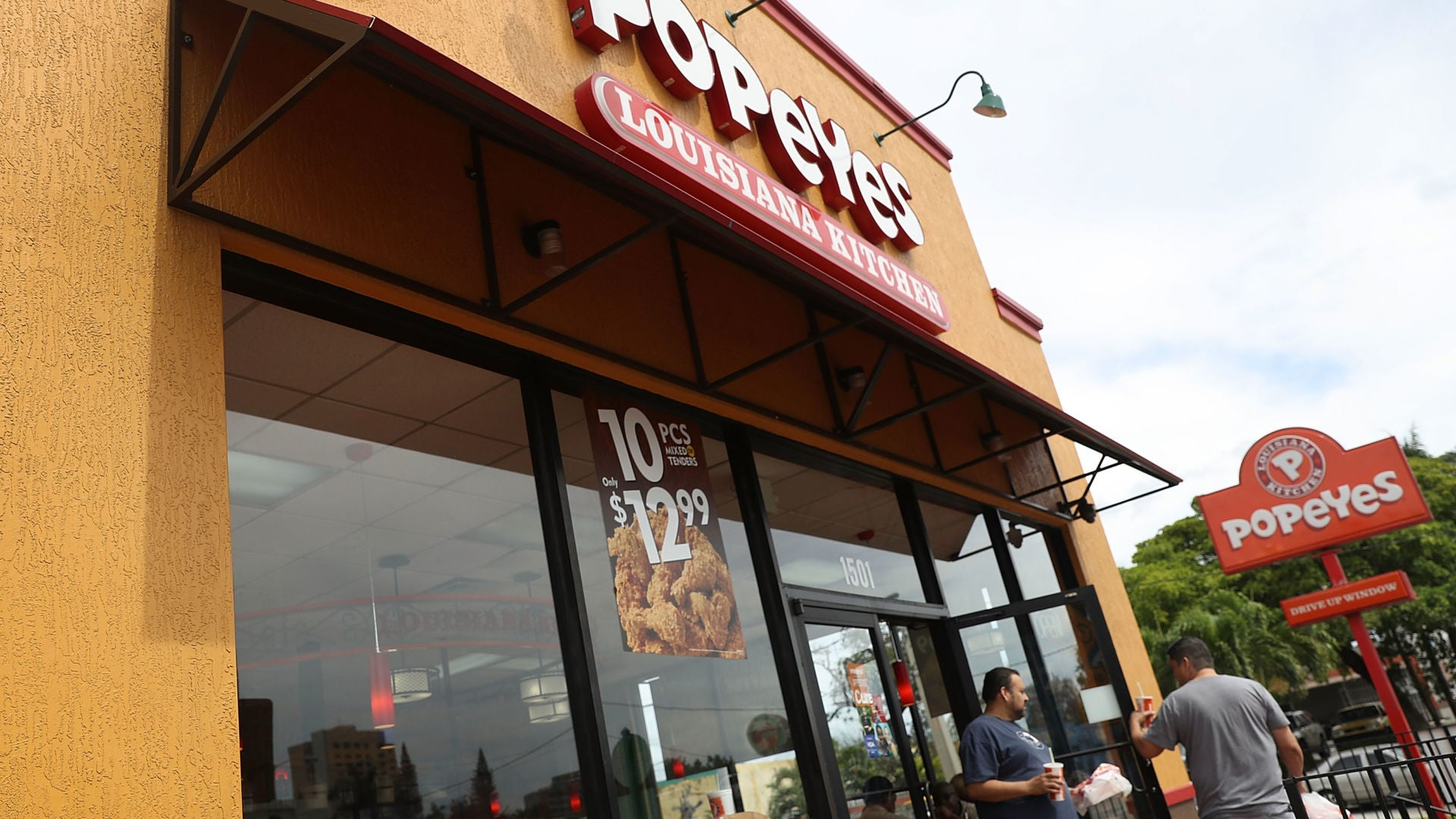 Popeyes chicken sandwich is officially sold out -- for now