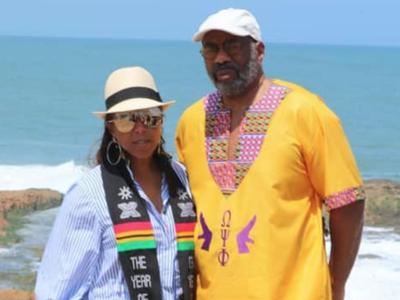 Steve And Marjorie Harvey's Emotional Journey To Ghana