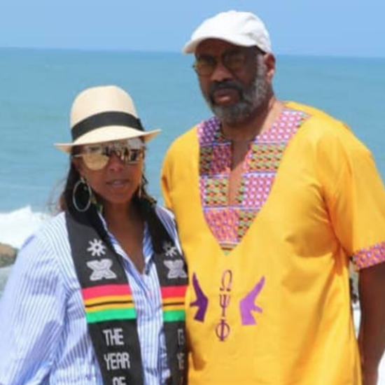 Steve And Marjorie Harvey Take An Emotional Journey 'Home' To Ghana