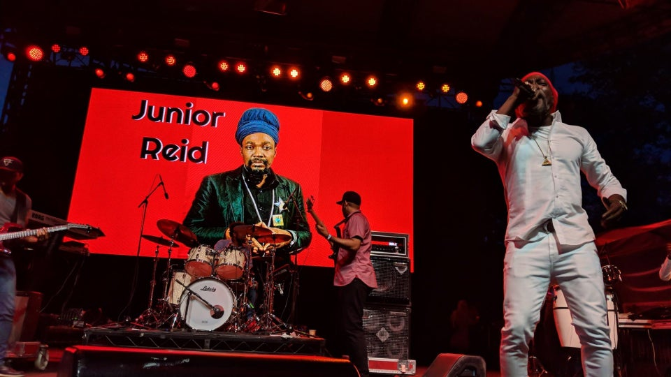 SUMMERSTAGE SIZZLES CENTRAL PARK WITH VP RECORDS 40th YEAR CELEBRATION