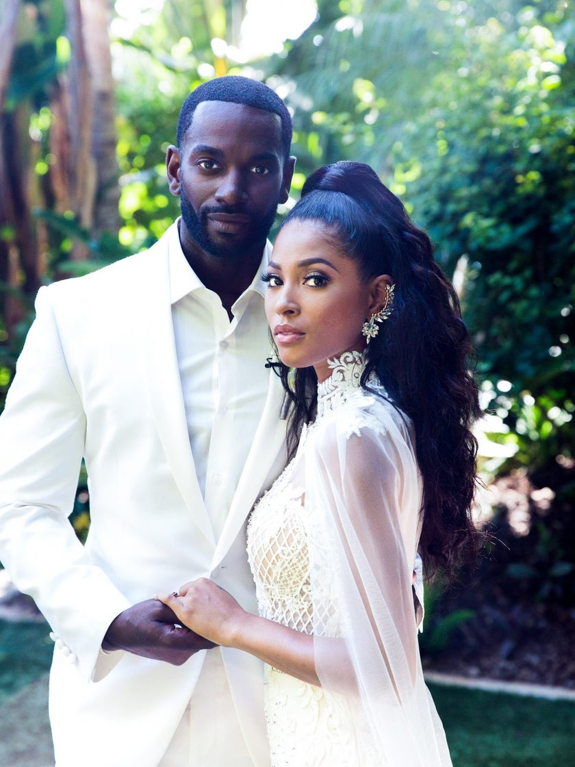 'The First Purge' Stars Mo McRae and Lex Scott Davis Are Married—See Their First Wedding Photos!