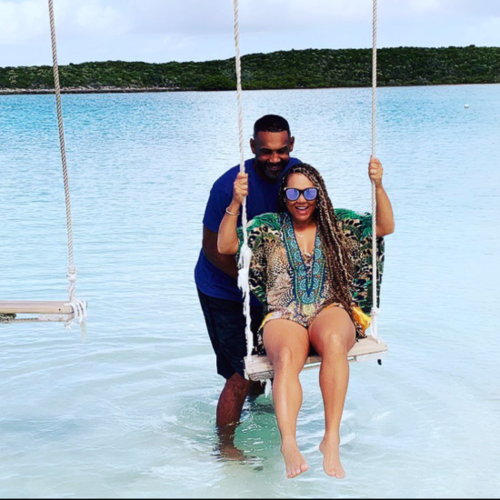 Happy Anniversary! Tamia and Grant Hill Celebrated 20 Years Of Marriage In The Bahamas