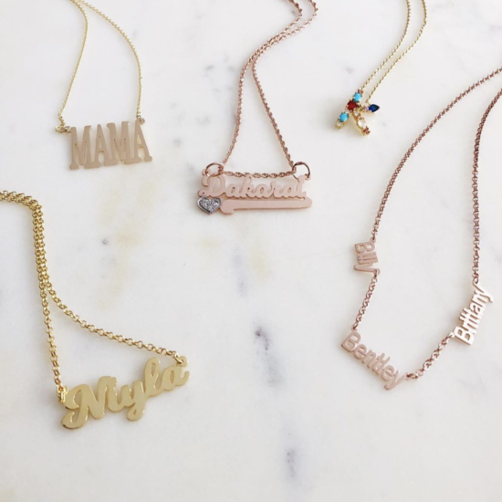 What I Screenshot This Week: The Personalized Necklaces That Let You Carry Your Loved Ones With You