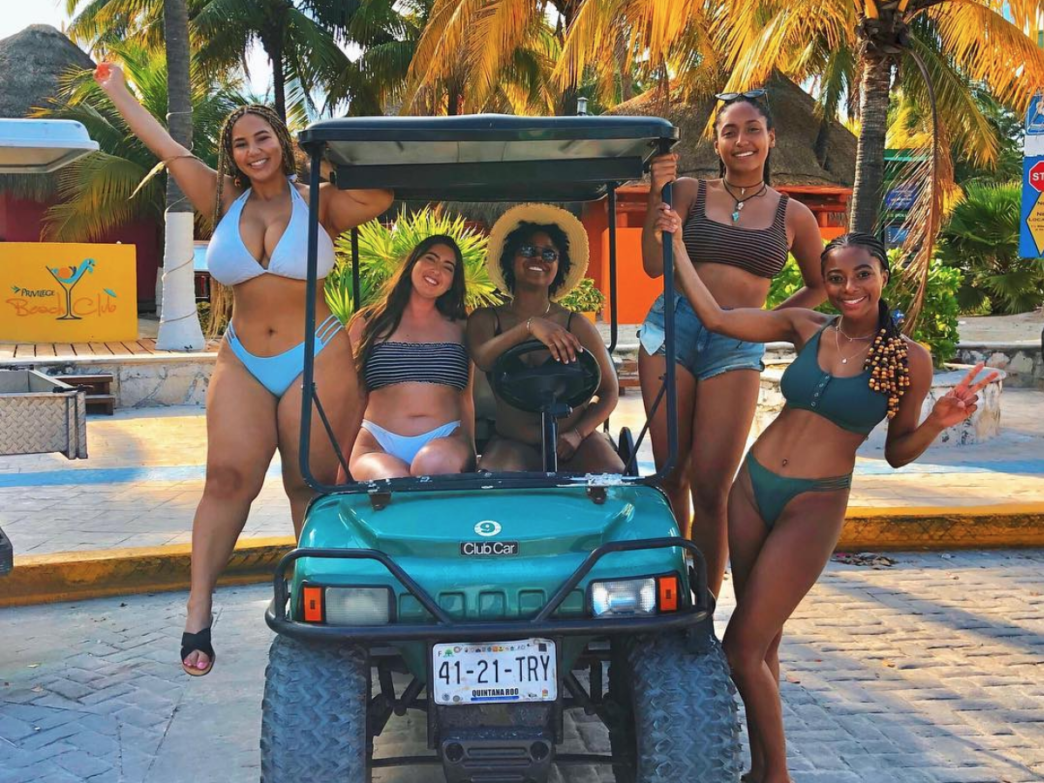Black Travel Vibes: This Girl Squad's Cancun Trip Was A Whole Vibe