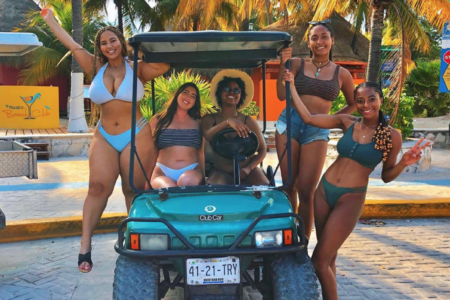 Black Travel Vibes: This Girl Squad's Cancun Trip Was A Vibe