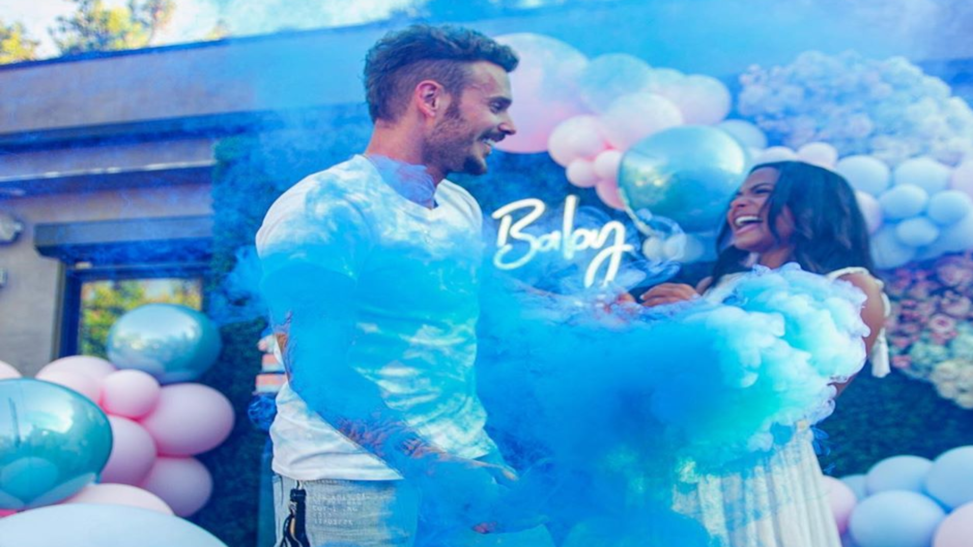 Christina Milian Announced She's Having A Baby Boy In Sweet Gender Reveal