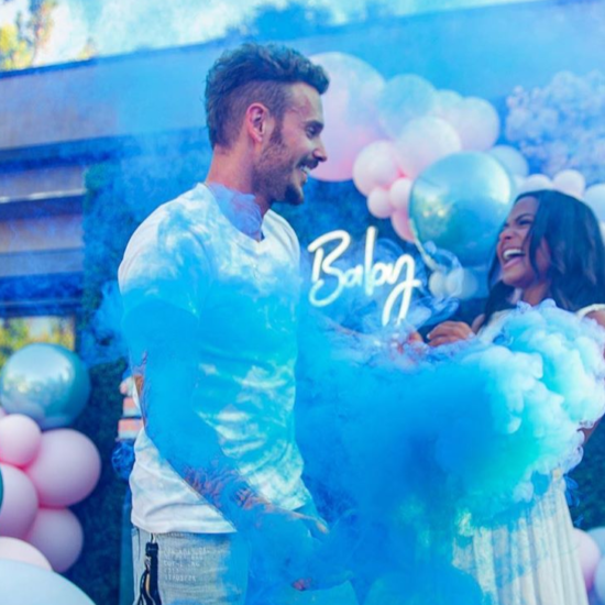 Christina Milian Reveals She's Having A Boy With This Sweet Gender Reveal
