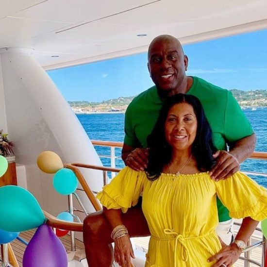 Cookie Johnson Threw Husband Magic Johnson A 60th Birthday Celebration He'll Never Forget