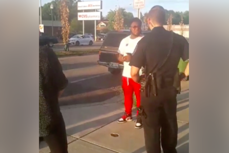 Black Man Detained, Questioned For 'Looking At Caucasian Woman'