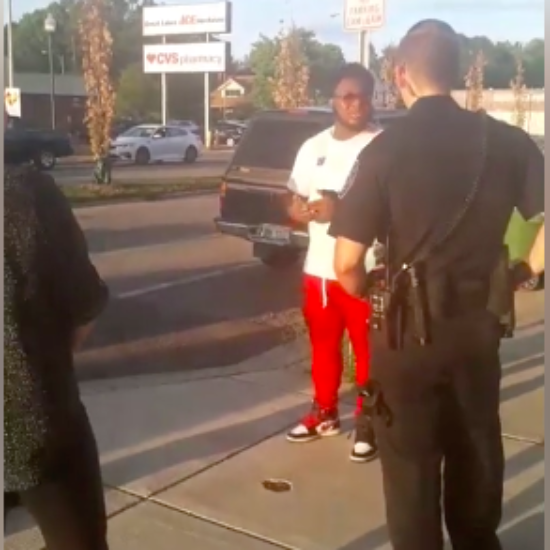 Black Man Stopped And Questioned For 'Looking At Caucasian Woman'