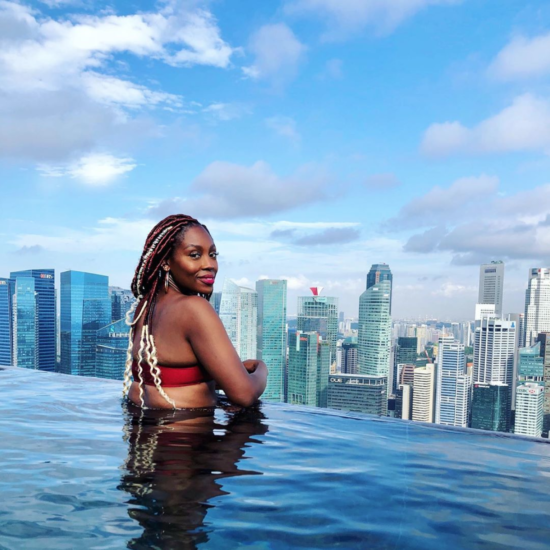 Black Travel Vibes: Get Into The Sky High Views Of Singapore