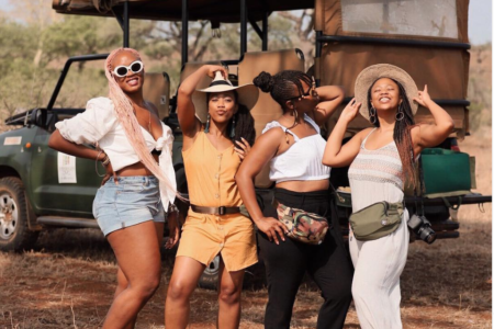 Black Travel Vibes: An African Safari Is The Girls Trip You Didn't Know You Needed