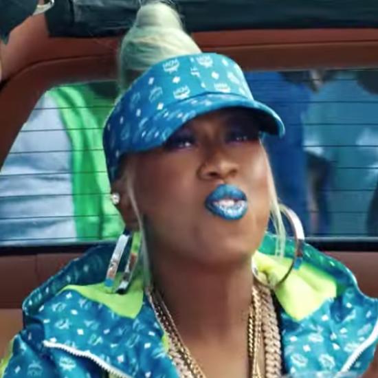 Missy Elliott Sported This Custom MCM x Misa Hylton Look For 'Throw It Back' Video
