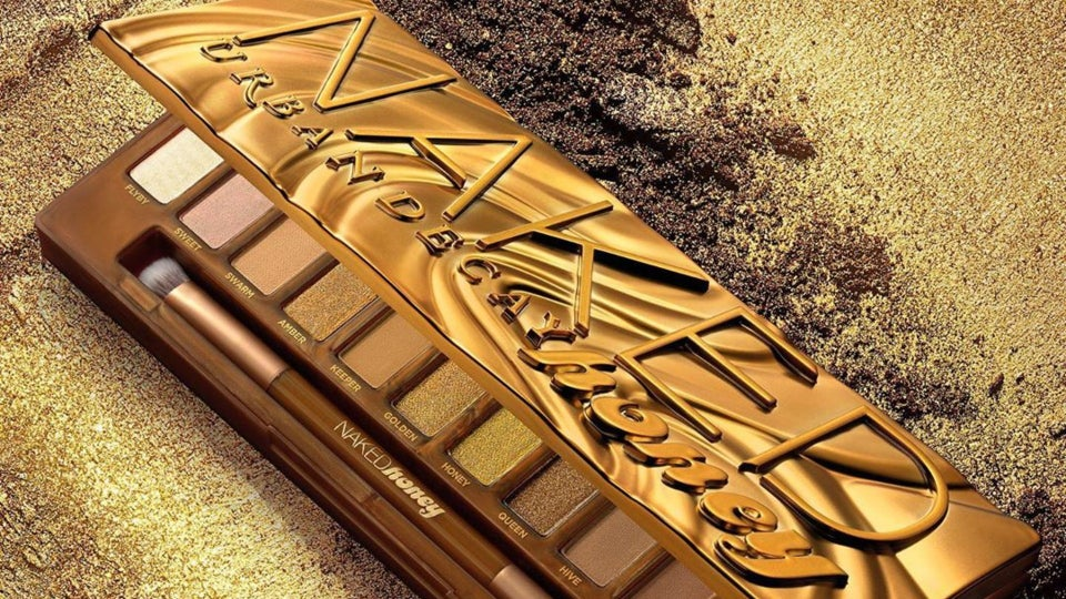 Urban Decay Launches NAKED Honey Eyeshadow Palette