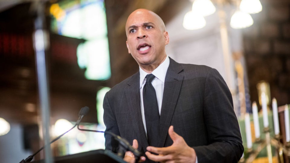 Cory Booker Outlines $100 Billion Plan To Support The Nation's HBCUs