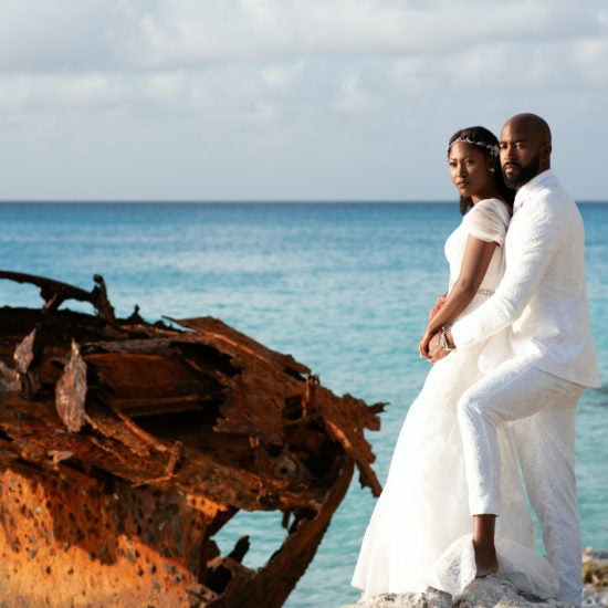 Bridal Bliss: Keva and Leonard's Bahamian Wedding Was A Photographer's Dream