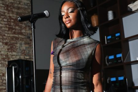 Here's Where You Can Grab Justine Skye's Adorable Midi Dress