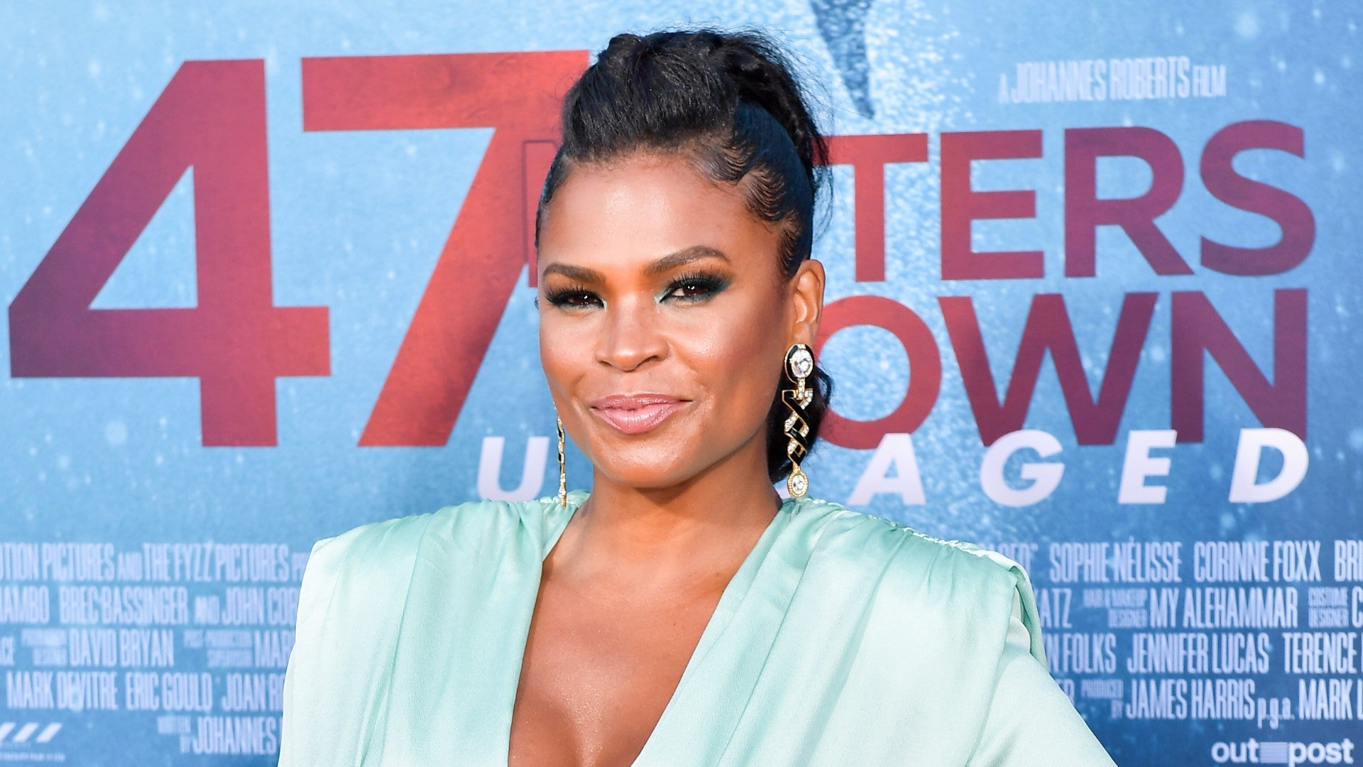 Nia Long Got Glammed Up For The Premiere Of '47 Meters Down: Uncaged'