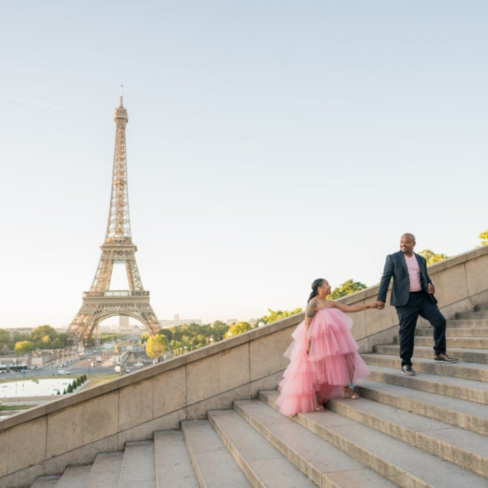 Black Wedding Moment Of The Day: This Vow Renewal Ceremony In Paris Took Us Up, Up And Away